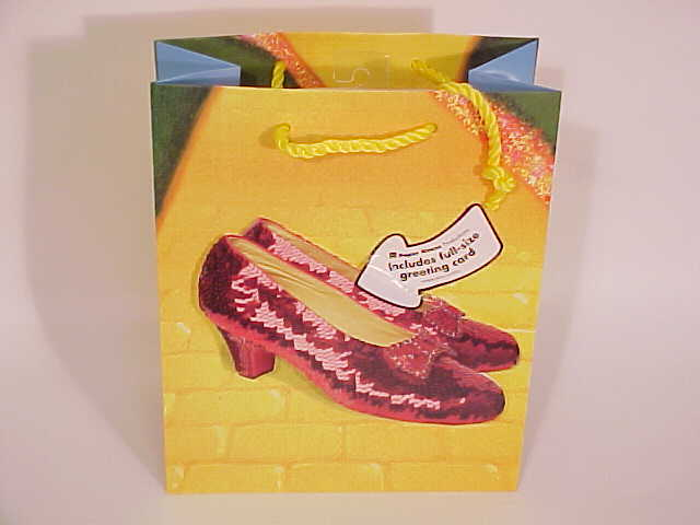 Picture of Gift Bag & Card Ruby Slipper