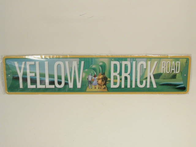 Picture of Yellow Brick Road Street Sign