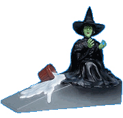 Picture of Wicked Witch Melting Doorstop