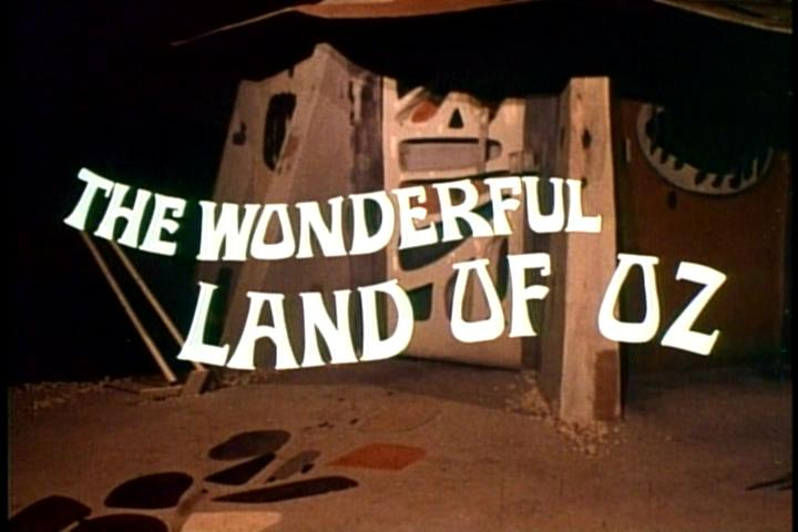 The Wonderful Land Of Oz Title Screen