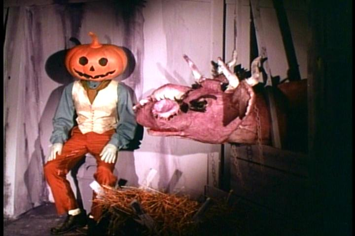 Jack Pumpkinhead and the Purple Cow