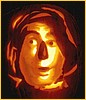 Scarecrow Pumpkin Patten Picture, Click here for pattern