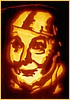 Tinman Pumpkin Patten Picture, Click here for pattern