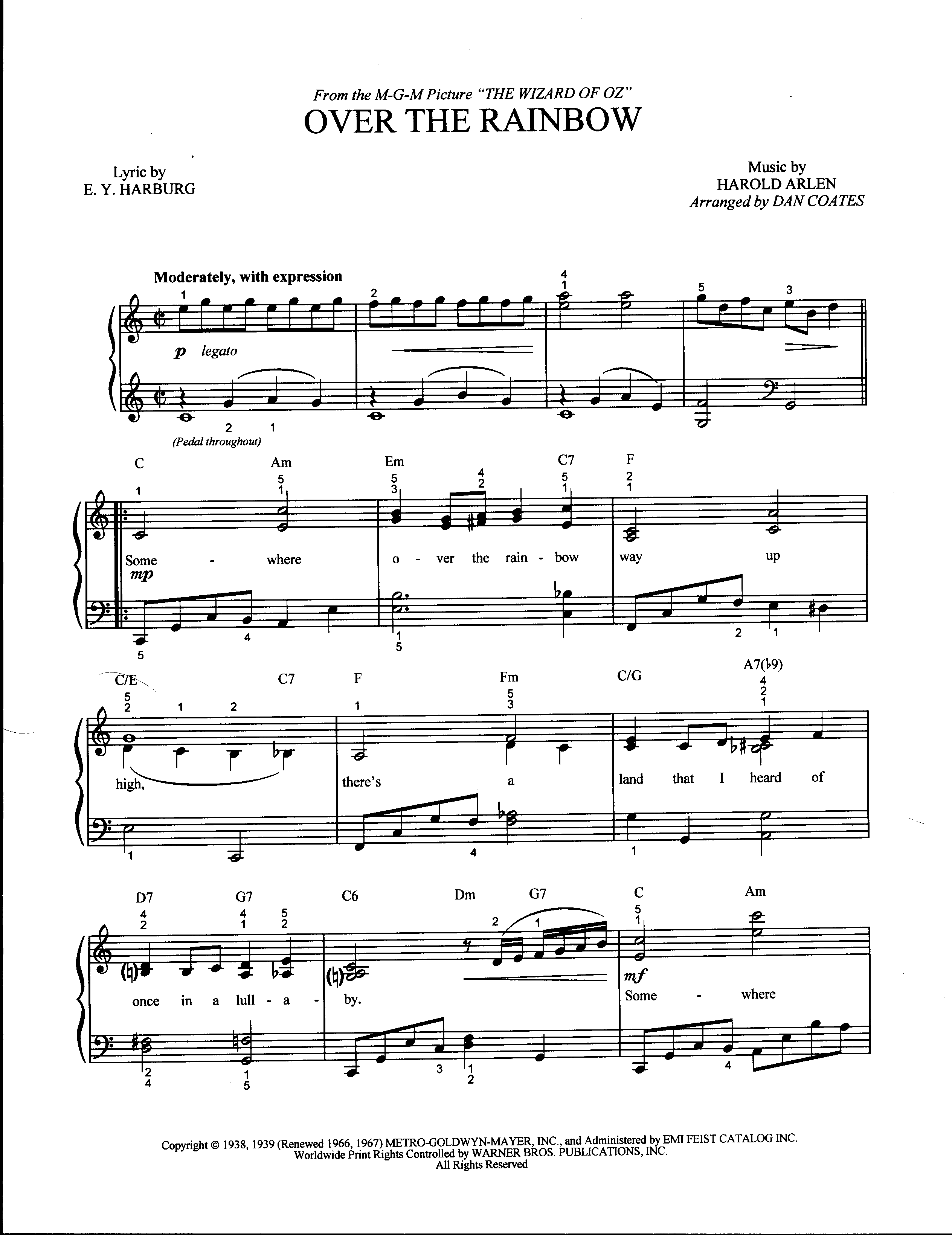 Guitar Chords For Somewhere Over The Rainbow Image Collections