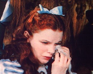 Dorothy Crying
